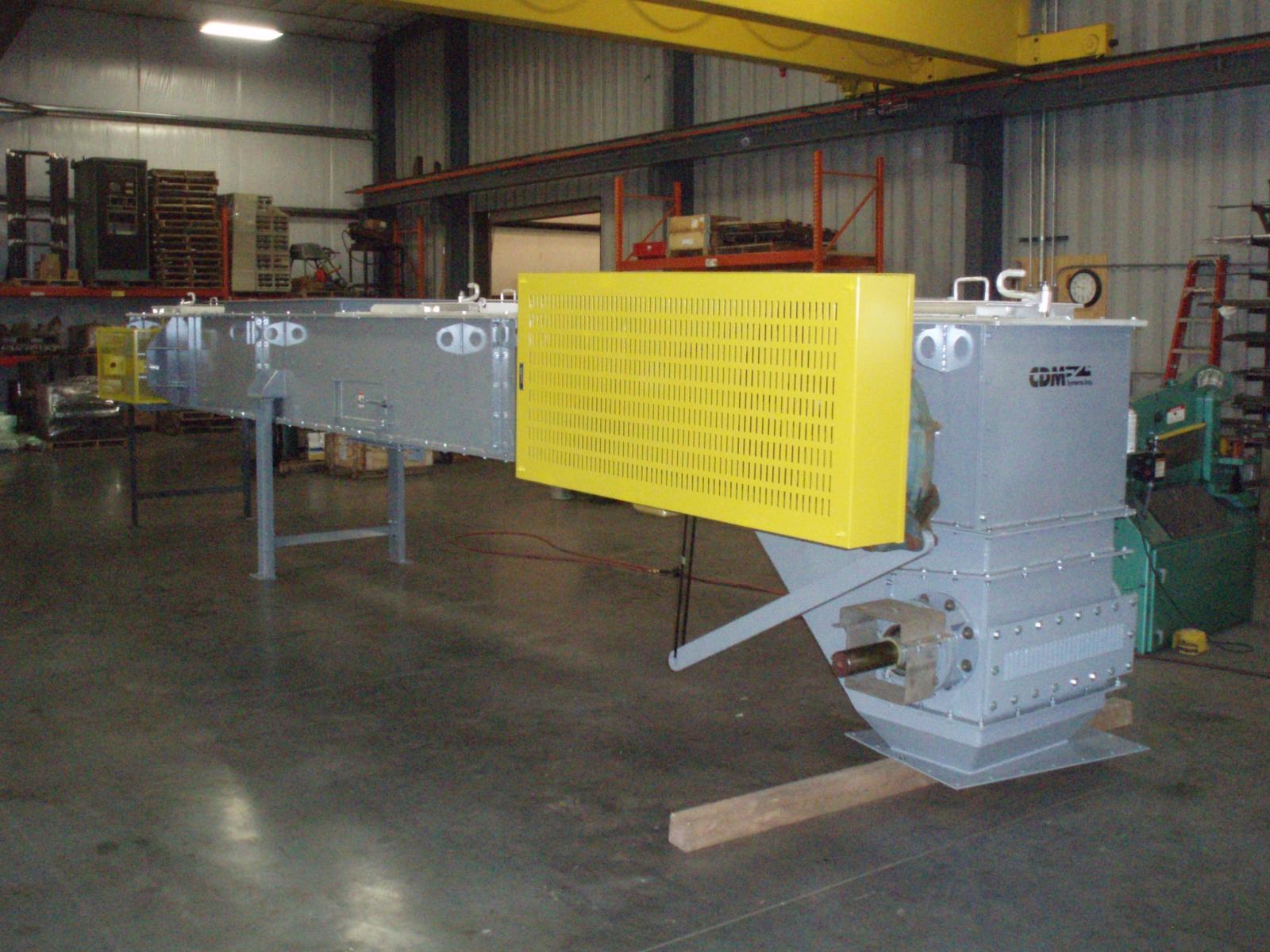 CDM Systems Repurposed Drag Chain Conveyor