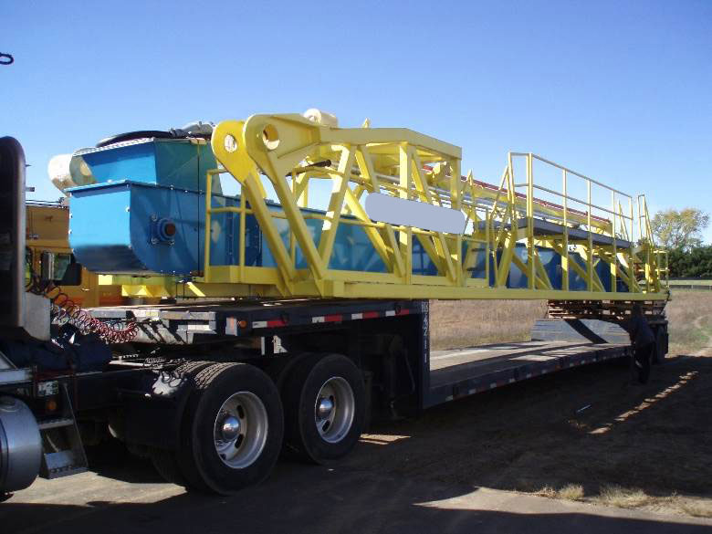 CDM Stationary Ship Unloader Ready for Delivery